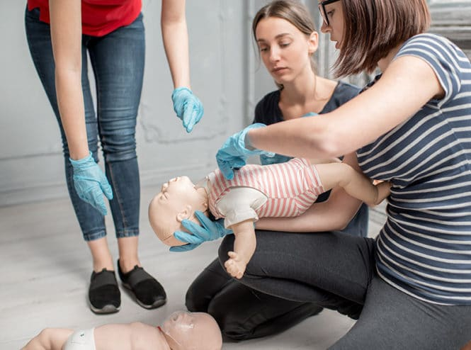 Ehbo opleding baby & kinderen reanimatie